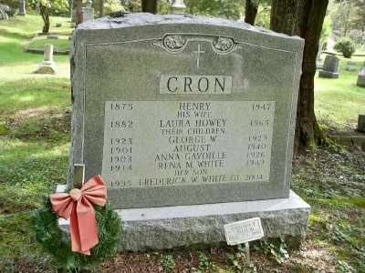 CRON, AUGUST - Pike County, Pennsylvania | AUGUST CRON - Pennsylvania Gravestone Photos