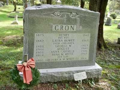 HOWEY CRON, LAURA D. - Pike County, Pennsylvania | LAURA D. HOWEY CRON - Pennsylvania Gravestone Photos
