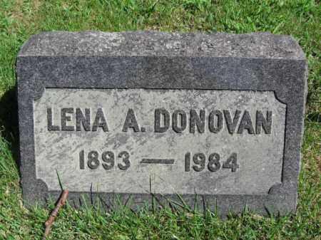 DONOVAN, LENA - Pike County, Pennsylvania | LENA DONOVAN - Pennsylvania Gravestone Photos
