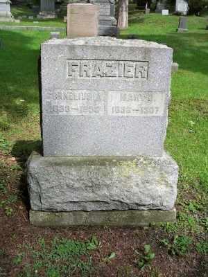 FRAZIER, CORNELIUS A. - Pike County, Pennsylvania | CORNELIUS A. FRAZIER - Pennsylvania Gravestone Photos