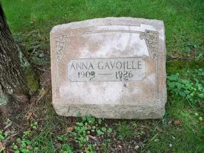 CRON GAVOILLE, ANNA - Pike County, Pennsylvania | ANNA CRON GAVOILLE - Pennsylvania Gravestone Photos