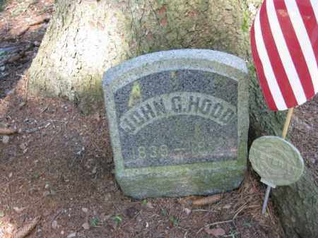 HOOD, JOHN G. - Pike County, Pennsylvania | JOHN G. HOOD - Pennsylvania Gravestone Photos