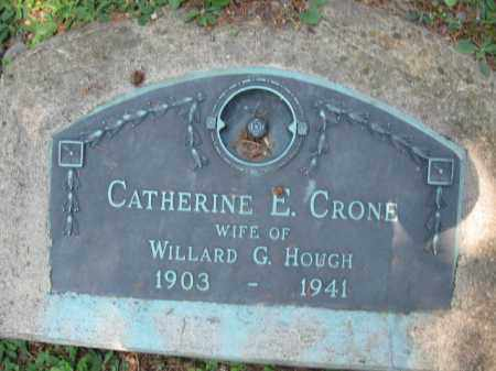 CRONE HOUGH, CATHERINE E. - Pike County, Pennsylvania | CATHERINE E. CRONE HOUGH - Pennsylvania Gravestone Photos