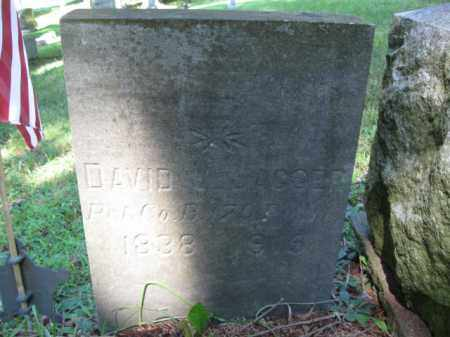 JAGGER (CW), DAVID V. - Pike County, Pennsylvania   DAVID V. JAGGER (CW) - Pennsylvania Gravestone Photos