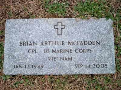 MCFADDEN, BRIAN ARTHUR - Pike County, Pennsylvania | BRIAN ARTHUR MCFADDEN - Pennsylvania Gravestone Photos