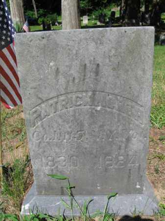 NORTH (CW), PATRICK - Pike County, Pennsylvania   PATRICK NORTH (CW) - Pennsylvania Gravestone Photos