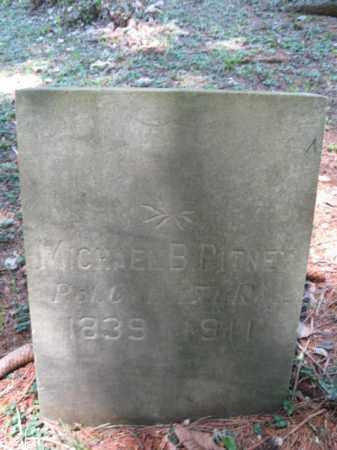 PITNEY (CW), MICHAEL B. - Pike County, Pennsylvania | MICHAEL B. PITNEY (CW) - Pennsylvania Gravestone Photos