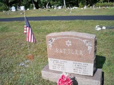SATTLER, SEYMOUR - Pike County, Pennsylvania   SEYMOUR SATTLER - Pennsylvania Gravestone Photos