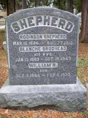 SHEPHERD, ROBINSON - Pike County, Pennsylvania | ROBINSON SHEPHERD - Pennsylvania Gravestone Photos