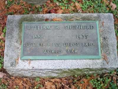 SHEPHERD, WILLIAM R. - Pike County, Pennsylvania | WILLIAM R. SHEPHERD - Pennsylvania Gravestone Photos