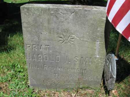 SMITH (WW I), HAROLD I. - Pike County, Pennsylvania   HAROLD I. SMITH (WW I) - Pennsylvania Gravestone Photos