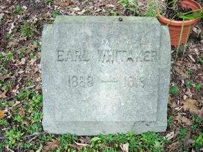 WHITAKER, EARL - Pike County, Pennsylvania | EARL WHITAKER - Pennsylvania Gravestone Photos