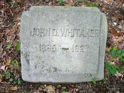 WHITAKER, JOHN D. - Pike County, Pennsylvania   JOHN D. WHITAKER - Pennsylvania Gravestone Photos
