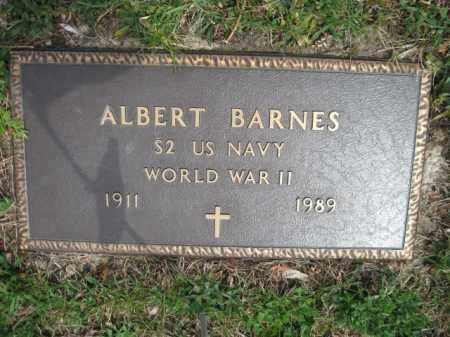 BARNES (WW II), ALBERT - Schuylkill County, Pennsylvania   ALBERT BARNES (WW II) - Pennsylvania Gravestone Photos