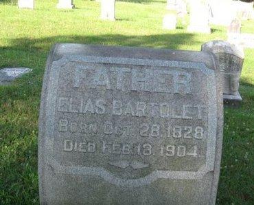 BARTOLET (CW), ELIAS - Schuylkill County, Pennsylvania | ELIAS BARTOLET (CW) - Pennsylvania Gravestone Photos