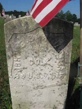 BARTOLET,JR. (CW), JOHN E. - Schuylkill County, Pennsylvania | JOHN E. BARTOLET,JR. (CW) - Pennsylvania Gravestone Photos
