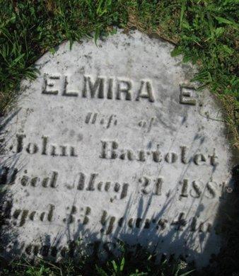 BARTOLEY, ELMIRE E. - Schuylkill County, Pennsylvania | ELMIRE E. BARTOLEY - Pennsylvania Gravestone Photos