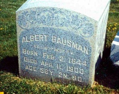 BAUSMAN (CW), ALBERT - Schuylkill County, Pennsylvania | ALBERT BAUSMAN (CW) - Pennsylvania Gravestone Photos
