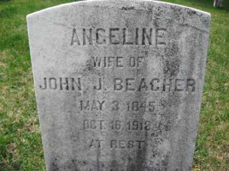 BEACHER, ANGELINE - Schuylkill County, Pennsylvania   ANGELINE BEACHER - Pennsylvania Gravestone Photos