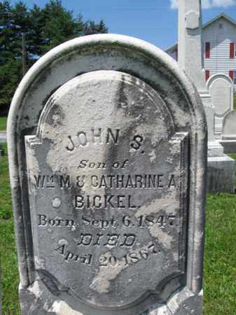 BICKEL, JOHN S. - Schuylkill County, Pennsylvania | JOHN S. BICKEL - Pennsylvania Gravestone Photos