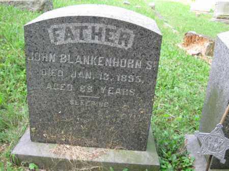 BLANKENHORN,SR., JOHN - Schuylkill County, Pennsylvania   JOHN BLANKENHORN,SR. - Pennsylvania Gravestone Photos