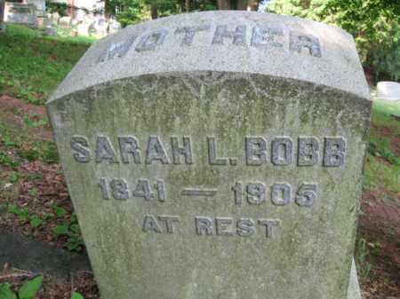 BOBB, SARAH - Schuylkill County, Pennsylvania | SARAH BOBB - Pennsylvania Gravestone Photos