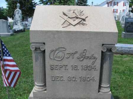 BODEY (CW), CHARLES A. - Schuylkill County, Pennsylvania   CHARLES A. BODEY (CW) - Pennsylvania Gravestone Photos