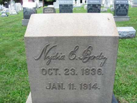 BODEY, NADIA E. - Schuylkill County, Pennsylvania | NADIA E. BODEY - Pennsylvania Gravestone Photos