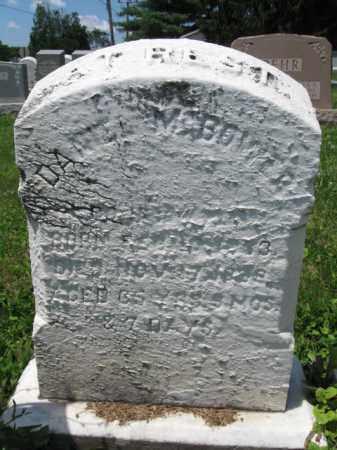 BOWER, DANIEL - Schuylkill County, Pennsylvania | DANIEL BOWER - Pennsylvania Gravestone Photos