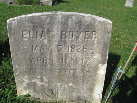 BOYER (CW), ELIAS - Schuylkill County, Pennsylvania | ELIAS BOYER (CW) - Pennsylvania Gravestone Photos