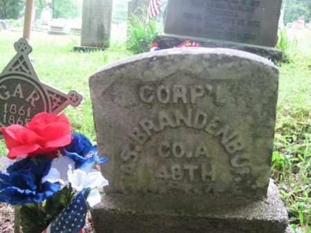 BRANDENBURGH (CW), CORP. CHARLES - Schuylkill County, Pennsylvania | CORP. CHARLES BRANDENBURGH (CW) - Pennsylvania Gravestone Photos