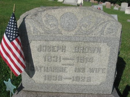 BROWN (CW), JOSEPH - Schuylkill County, Pennsylvania | JOSEPH BROWN (CW) - Pennsylvania Gravestone Photos