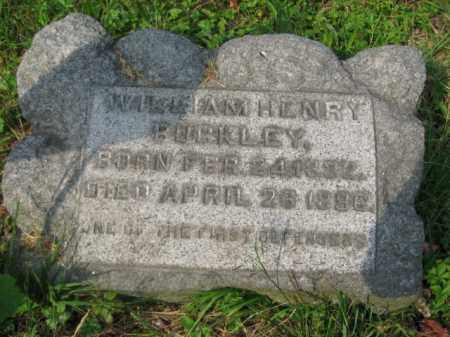 BUCKLEY (CW), WILLIAM HENRY - Schuylkill County, Pennsylvania | WILLIAM HENRY BUCKLEY (CW) - Pennsylvania Gravestone Photos