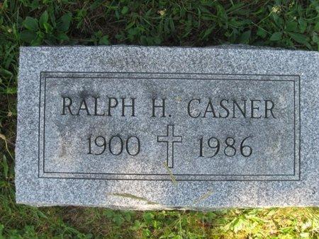 CASNER, RALPH H. - Schuylkill County, Pennsylvania | RALPH H. CASNER - Pennsylvania Gravestone Photos