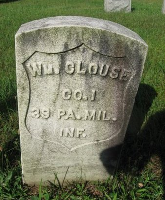 CLOUSE (CW), WILLIAM - Schuylkill County, Pennsylvania | WILLIAM CLOUSE (CW) - Pennsylvania Gravestone Photos