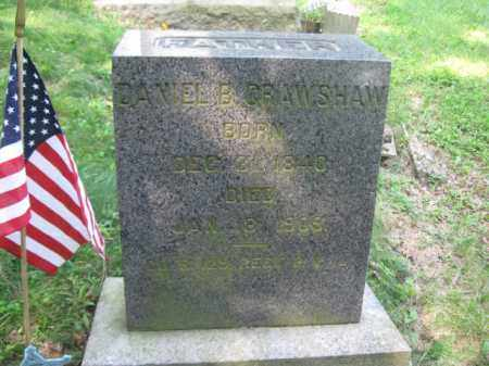 CRAWSHAW (CW), DANIEL B. - Schuylkill County, Pennsylvania | DANIEL B. CRAWSHAW (CW) - Pennsylvania Gravestone Photos