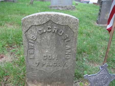 CROSLAND (CW), JOHN I. - Schuylkill County, Pennsylvania   JOHN I. CROSLAND (CW) - Pennsylvania Gravestone Photos