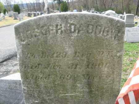 DADDOW (CW), JOSEPH - Schuylkill County, Pennsylvania | JOSEPH DADDOW (CW) - Pennsylvania Gravestone Photos