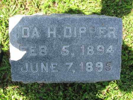 DIPPER, IDA - Schuylkill County, Pennsylvania | IDA DIPPER - Pennsylvania Gravestone Photos