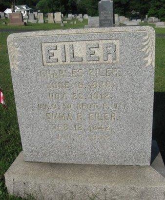 EILER (CW), CHARLES - Schuylkill County, Pennsylvania   CHARLES EILER (CW) - Pennsylvania Gravestone Photos