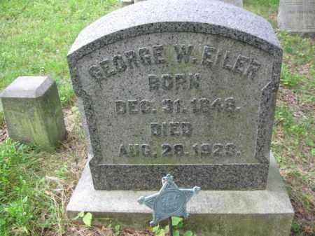 EILER (CW), GEORGE W. - Schuylkill County, Pennsylvania | GEORGE W. EILER (CW) - Pennsylvania Gravestone Photos