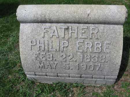 ERBE, PHILIP - Schuylkill County, Pennsylvania   PHILIP ERBE - Pennsylvania Gravestone Photos