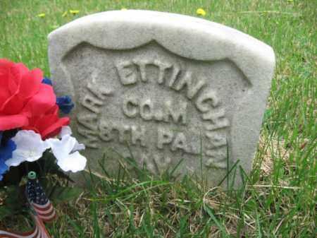 ETTINGHAM (CW), MARK - Schuylkill County, Pennsylvania   MARK ETTINGHAM (CW) - Pennsylvania Gravestone Photos