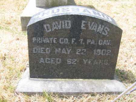 EVANS (CW), PVT.DAVID - Schuylkill County, Pennsylvania | PVT.DAVID EVANS (CW) - Pennsylvania Gravestone Photos