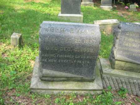 EVANS, JOHN - Schuylkill County, Pennsylvania | JOHN EVANS - Pennsylvania Gravestone Photos
