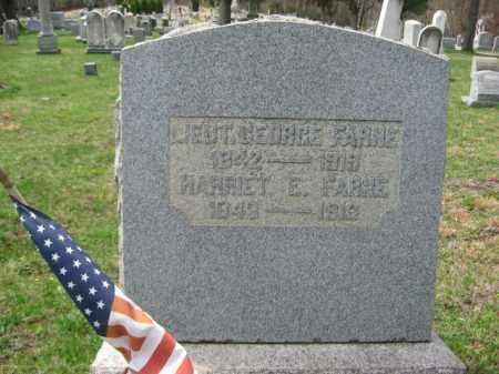 FARNE   (CW), 2ND LT. GEORGE - Schuylkill County, Pennsylvania   2ND LT. GEORGE FARNE   (CW) - Pennsylvania Gravestone Photos