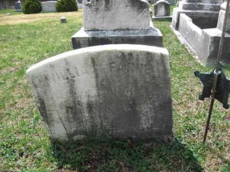 FARNE (CW), WILLIAM - Schuylkill County, Pennsylvania | WILLIAM FARNE (CW) - Pennsylvania Gravestone Photos