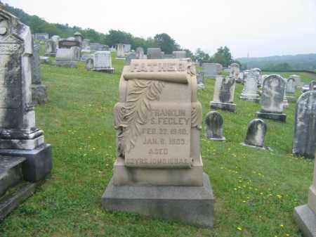 FEGLEY, FRANKLIN S. - Schuylkill County, Pennsylvania   FRANKLIN S. FEGLEY - Pennsylvania Gravestone Photos