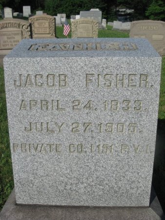 FISHER (CW), JACOB - Schuylkill County, Pennsylvania | JACOB FISHER (CW) - Pennsylvania Gravestone Photos