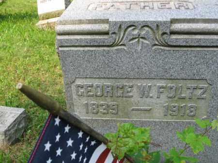 FOLTZ (CW), GEORGE W. - Schuylkill County, Pennsylvania | GEORGE W. FOLTZ (CW) - Pennsylvania Gravestone Photos